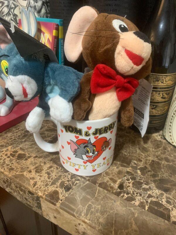 Tom Jerrys Fifty 50 Years Warner Bros Mug And Plushies Bean Bag