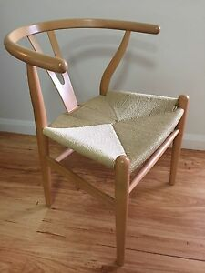 Chairs - Hans Wegner replicas x 2 - as new (pick up only) Chatswood Willoughby Area Preview
