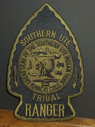 Southern Ute Tribal Ranger Subdued Patch
