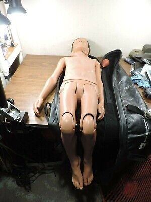 Medical Plastics Laboratories Nurse Training Full Body Youth Manikin
