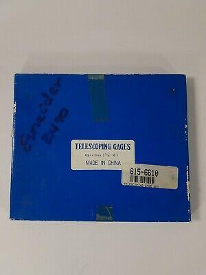 Telescoping Gages 6 Pcs Set Machinist