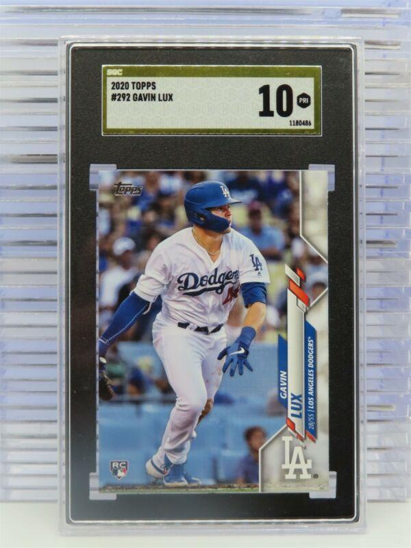 Leaf Gavin LUX 20161ST Ever Printed Draft Rookie Card Los Angeles Dodgers!