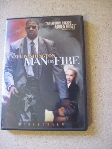 Man on Fire (DVD, 2004)