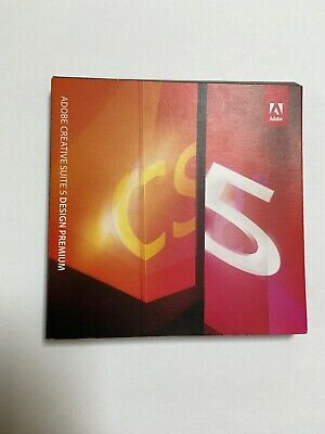 Adobe Creative Suite 5 Design Premium Acrobat Photoshop Illustrator InDesign CS5