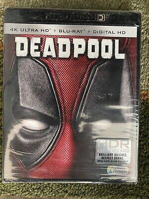 DEADPOOL (4K Ultra HD / Blu-ray / Digital) BRAND NEW - SEALED