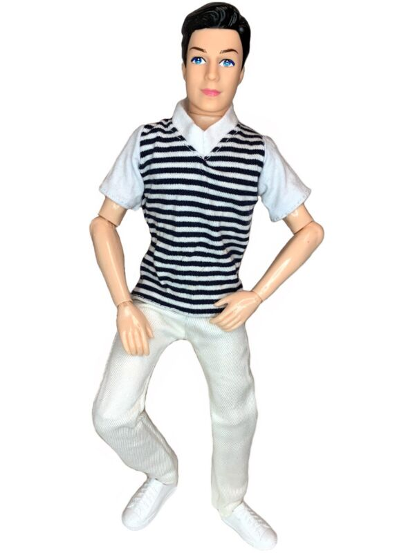 "12"" Prince Boy Doll Articulated Jointed Posable 14 Joints Ken Fashionistas Clone"