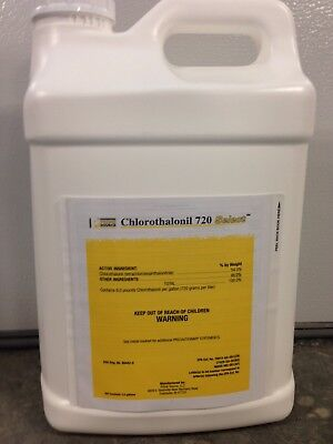 Chlorothalonil 720 Select Fungicide - 2.5 Gallons (Replaces -