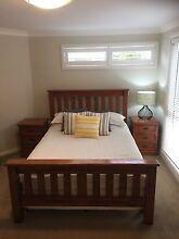 Harvey Norman Queen Solid Wood bedroom suite Beaumont Hills The Hills District Preview