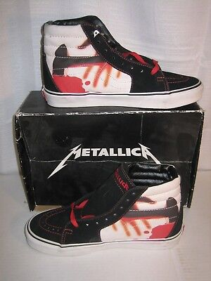 METALLICA KILL EM ALL VANS US 7.5 ANTHRAX SLAYER MEGADETH IRON MAIDEN METAL NWT