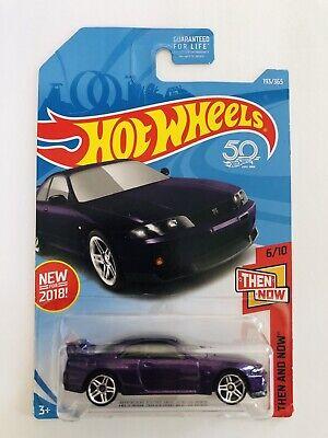 Hot wheels 2018 nissan skyline GT-R R33 purple #193 / 365 htf