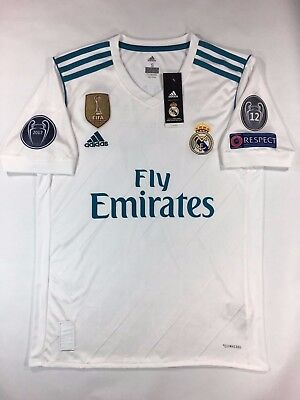 Real Madrid Home Jersey Ronaldo 2017-18 UEFA Champions league
