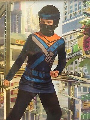 Disguise Lego The Ninjago Movie Blue Orange Costume Dress up Boys - The Blue Ninjago