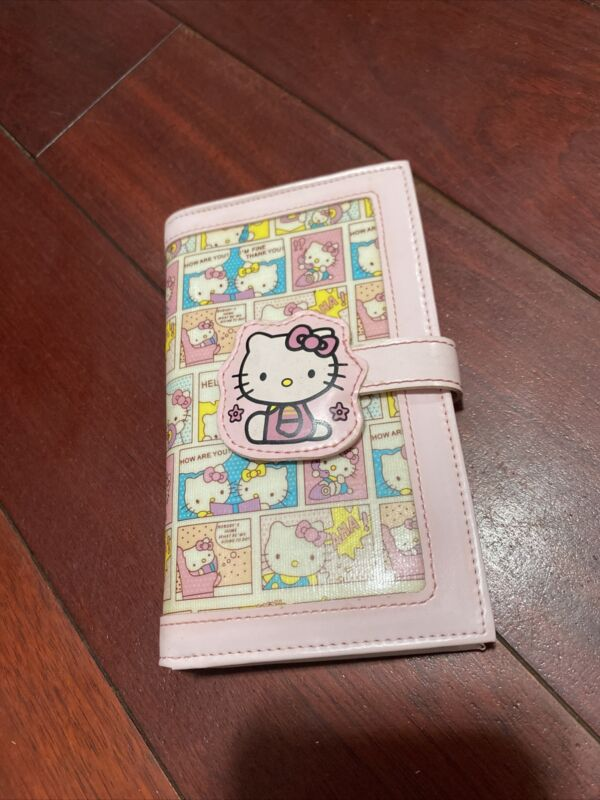 Vintage Hello Kitty Comic Book Wallet