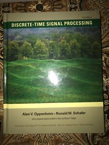 Discrete time signal processing by Oppenheim and Shafer