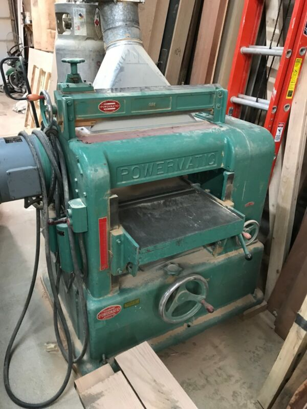 Powermatic Planer Model 221 with blade sharpener good shape
