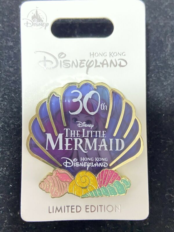 Disney HKDL Shell Little Mermaid princess Ariel LE 600 pin (Set Lot )