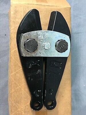 H.k. Hk Porter 113c 90620 Center Cut Cutterhead Bolt Cutter Replacement Jaws New