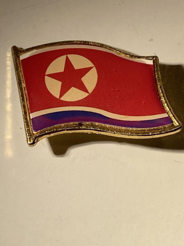 N Korea DPRK Pin