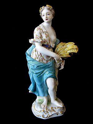 Antique Meissen Nude Figurine Demeter Goddess Fertility & Harvest 1815-1924 C88