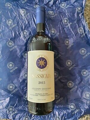 Sassicaia 2015 - (283 con bonifico)