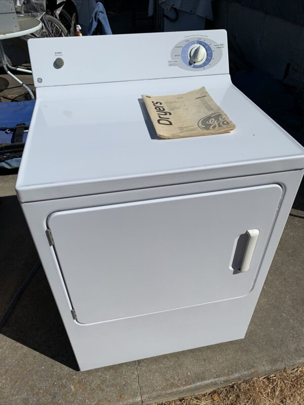 GE Front Loading Extra Large Capacity 2 Clothes Care Cycles Electric Dryer