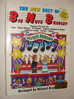 1990 Best of Big Note Richard Bradley Pops, Kids, Movie & TV Theme songs