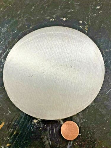 """1/4"""" Steel Plate, Disc Shaped 5"""" Diameter, .250 thick 1045 Steel, Round, Circle"""