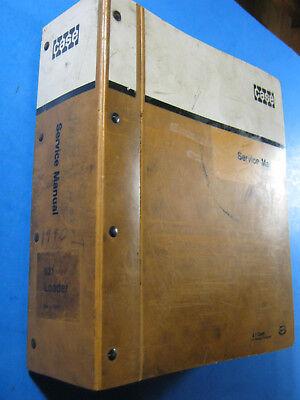 Case 621 Loader Service Manual 1989 Oem Factory