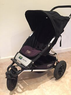 Mountain Buggy Urban Swift (NZ made) + Travel Bag Mitcham Mitcham Area Preview