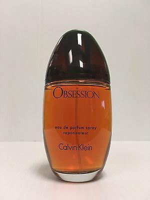 OBSESSION Calvin Klein Perfume SPRAY Women 3.4 OZ / 100 ML WITH CAP NEW UNBOX