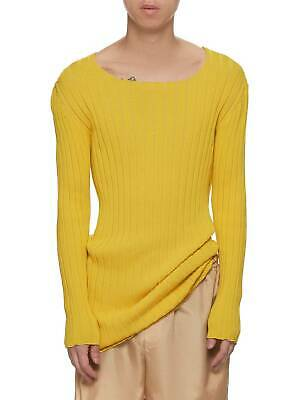 LUDOVIC De SAINT SERNIN Yellow knit top new with tags