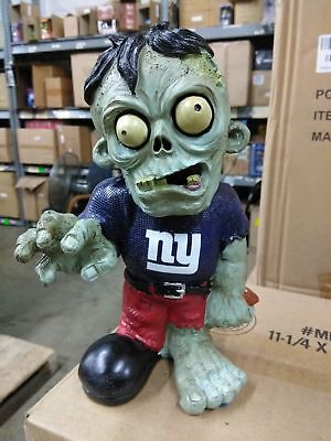 New York Giants Zombie in Blue NY Shirt Red Pants Bobblehead Halloween ()