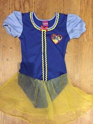 ✅NEU Schneewittchen Kostüm Body Mit Tutu Disney Gr.110/116 Prinzessinnen - Prinz Schneewittchen Kostüm