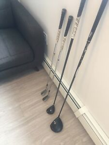 LH Titleist and Taylormade Golf Clubs