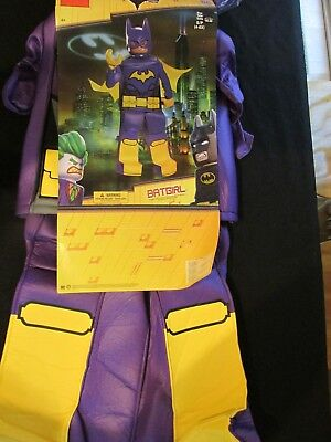 New LEGO BATGIRL Halloween Costume Size  S 4-6X from LEGO Batman Movie](Girl Halloween Costumes From Movies)