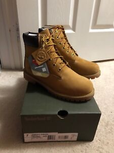 SIZE 7Y WHEAT TIMBERLANDS