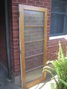Glass Panelled Cedar Timber Front Door 2030 x 808 Kogarah Rockdale Area Preview