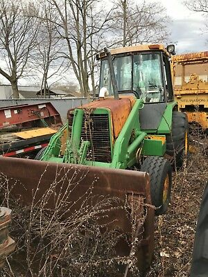 1985 John Deere 510b Backhoe Loader With Extendahoe