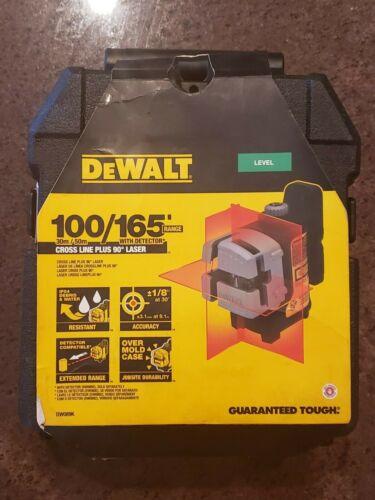 Dewalt DW089K Red Self-Leveling 3-Beam Cross Line Laser Level