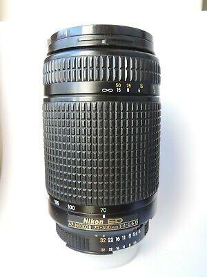 Nikon ED AF ZOOM-Nikkor 70-300 mm f/4-5.6g lente, usado segunda mano  Embacar hacia Mexico