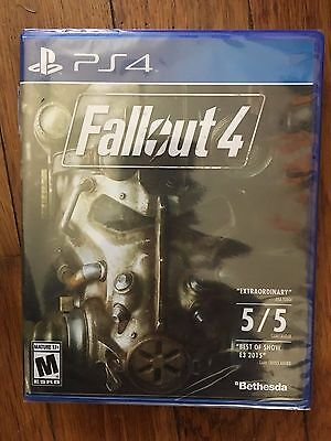 Fallout 4 (Sony PlayStation 4, 2015) Brand New