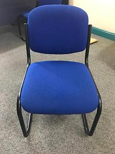 8x Blue Office Chairs Camden Camden Area Preview