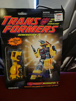 Transformers Generation 2 Mixmaster Complete