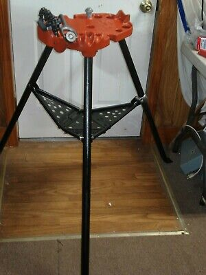 Ridgid 450 Tristand 18 To 5 Chain Pipe Threading Vise -new Chain Jaw