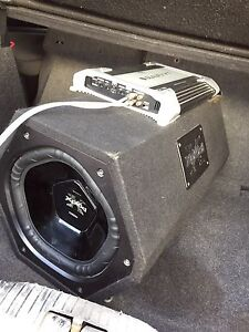 1100 watt Sony xplod with amp