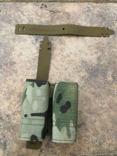 Esstac Double Pistol GAP Kywi Pouch, Multicam (with WTF straps)