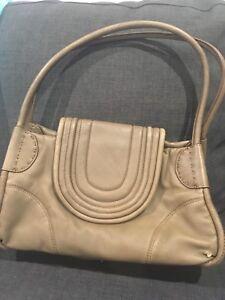 Mimco Handbag Bag Leather
