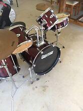Drum set kit percussion plus Bacchus Marsh Moorabool Area Preview