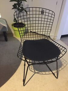 Nice Replica Harry Bertoia Bird Chair Plus Black Chair Pad