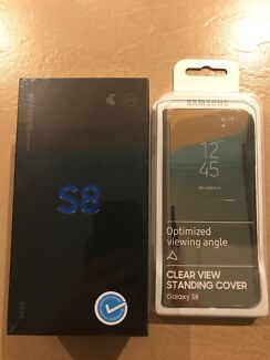 Brand new sealed inbox Samsung galaxy S8 with free case